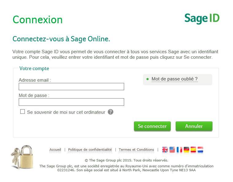 SAGE Online login